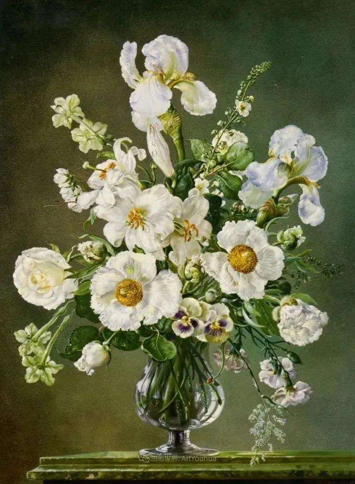 英国最伟大的花卉画家之一,艺术家塞西尔·肯尼迪插图7