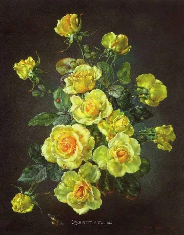 英国最伟大的花卉画家之一,艺术家塞西尔·肯尼迪插图11