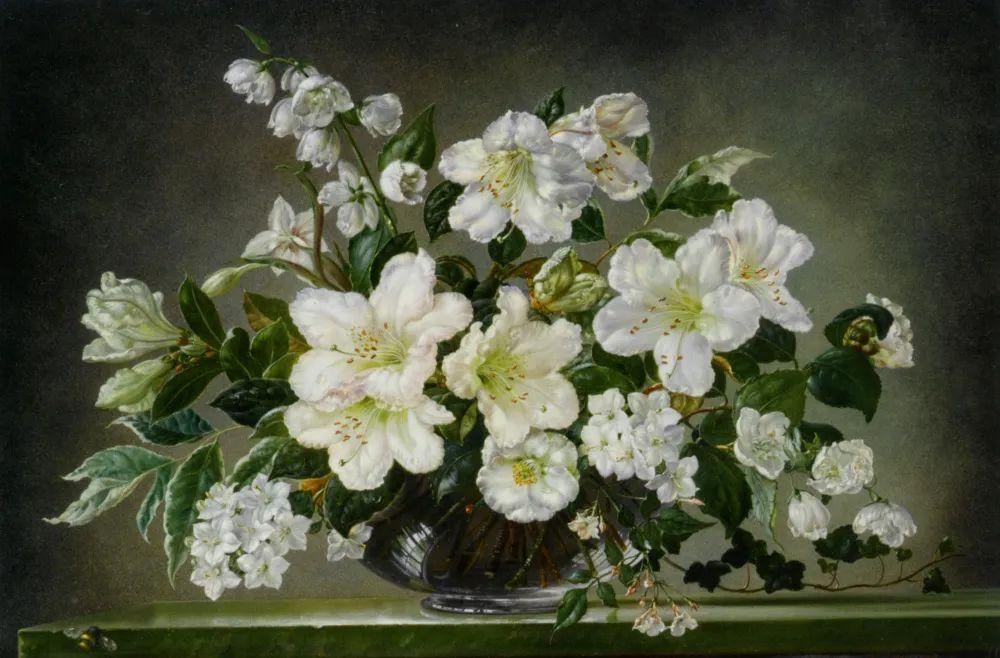 英国最伟大的花卉画家之一,艺术家塞西尔·肯尼迪插图21