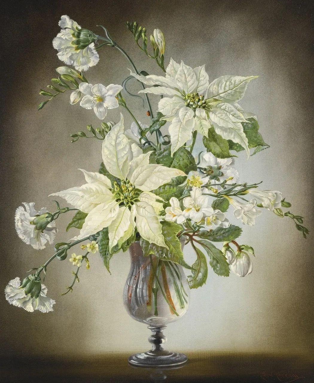 英国最伟大的花卉画家之一,艺术家塞西尔·肯尼迪插图27