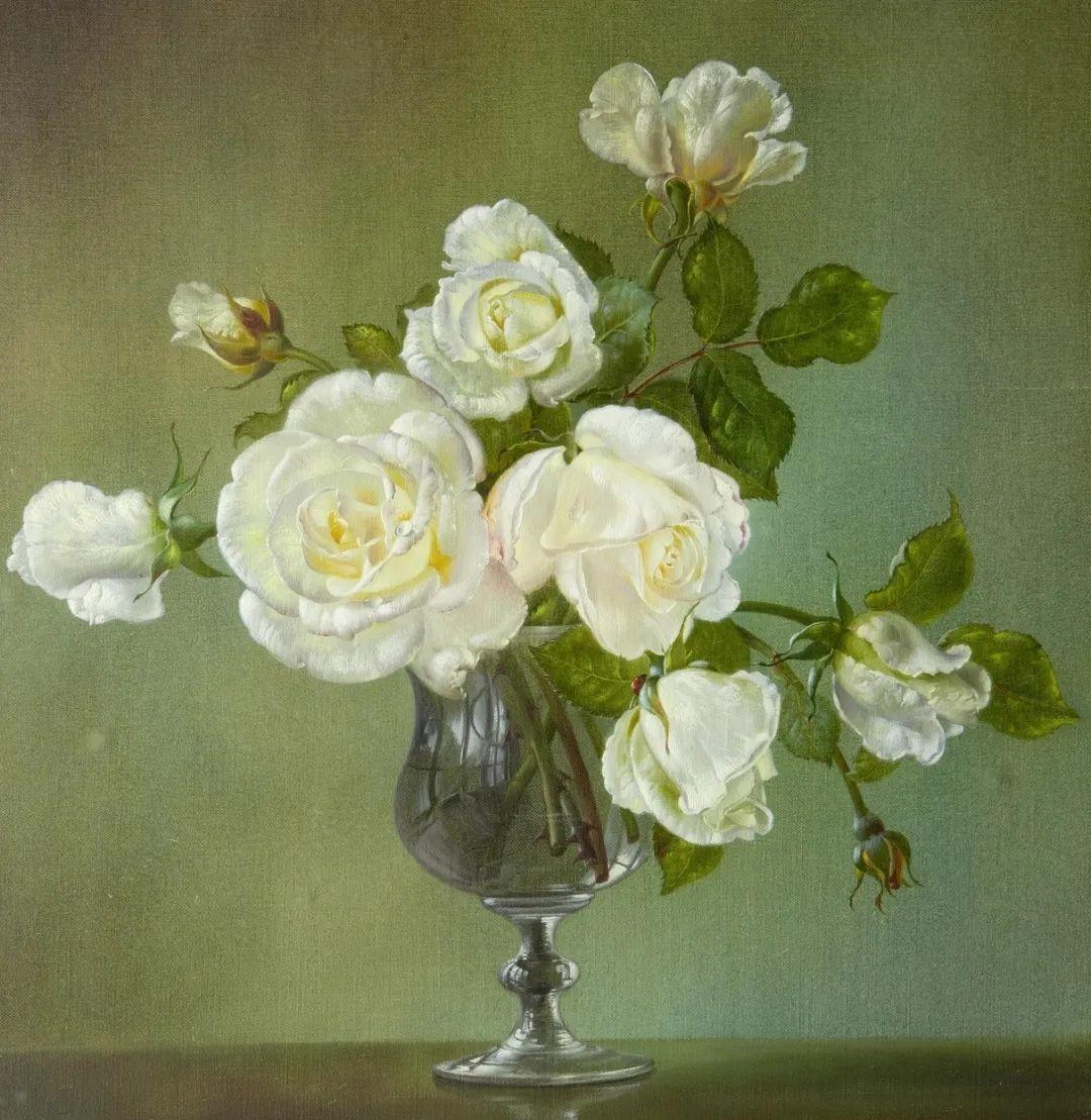 英国最伟大的花卉画家之一,艺术家塞西尔·肯尼迪插图35
