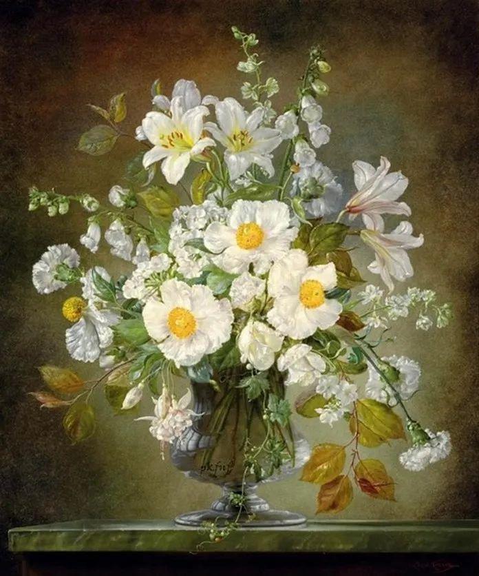 英国最伟大的花卉画家之一,艺术家塞西尔·肯尼迪插图39