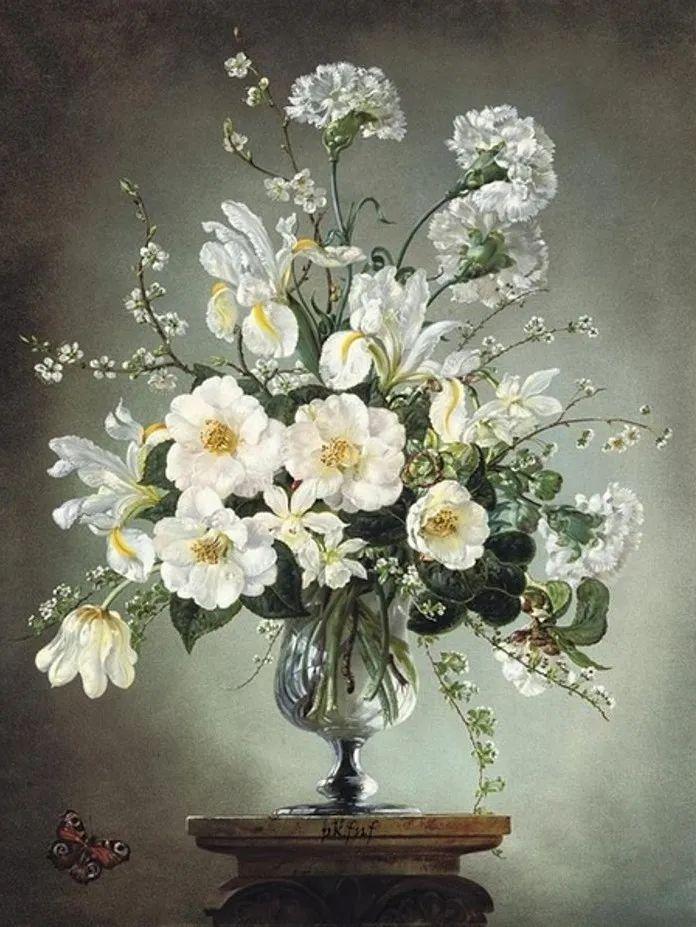 英国最伟大的花卉画家之一,艺术家塞西尔·肯尼迪插图41