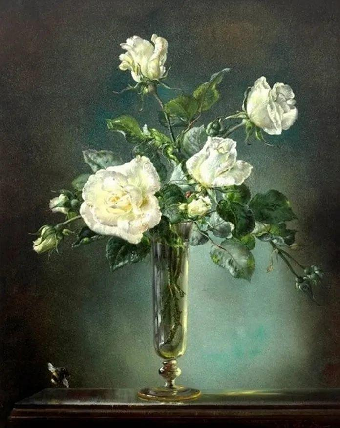英国最伟大的花卉画家之一,艺术家塞西尔·肯尼迪插图43