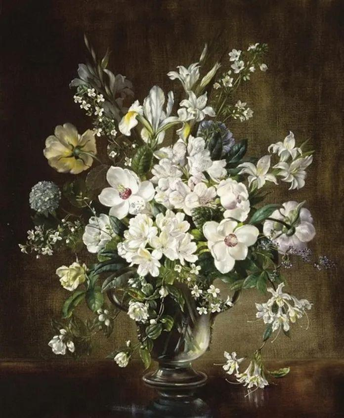 英国最伟大的花卉画家之一,艺术家塞西尔·肯尼迪插图45