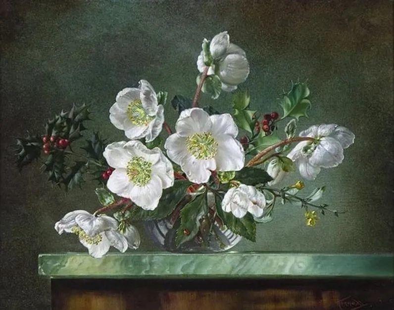英国最伟大的花卉画家之一,艺术家塞西尔·肯尼迪插图47