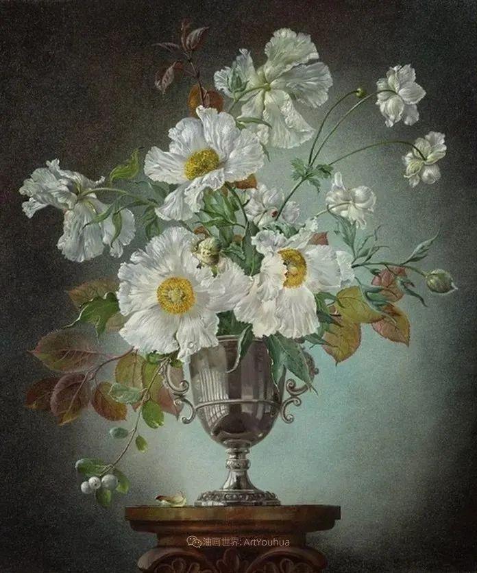 英国最伟大的花卉画家之一,艺术家塞西尔·肯尼迪插图55