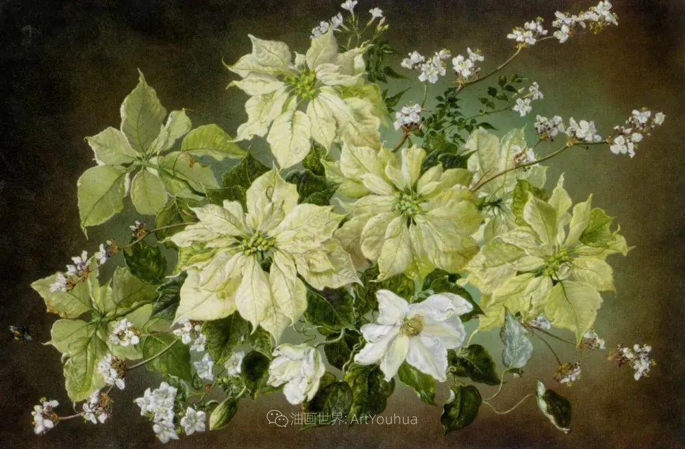 英国最伟大的花卉画家之一,艺术家塞西尔·肯尼迪插图57