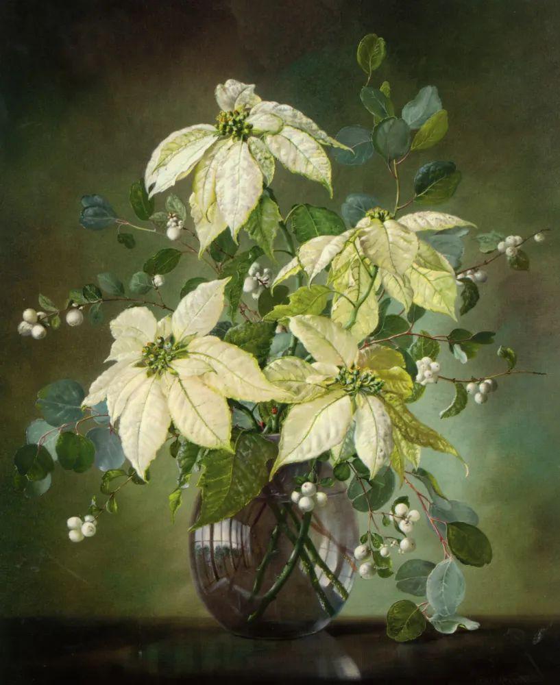 英国最伟大的花卉画家之一,艺术家塞西尔·肯尼迪插图59