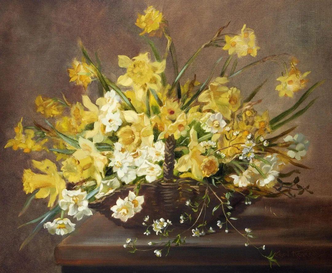 英国最伟大的花卉画家之一,艺术家塞西尔·肯尼迪插图65