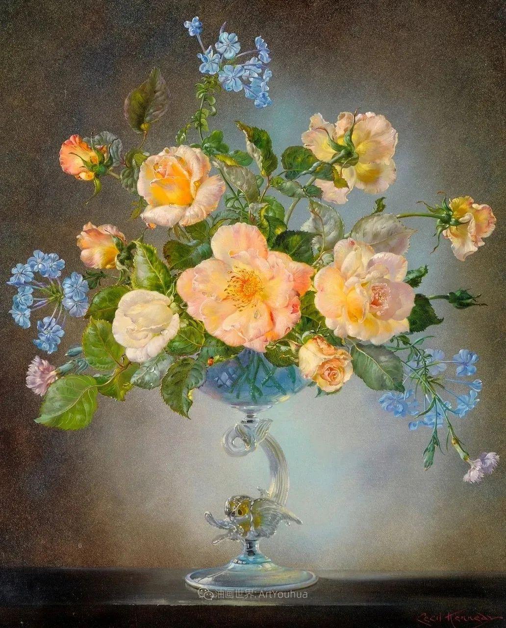 英国最伟大的花卉画家之一,艺术家塞西尔·肯尼迪插图67