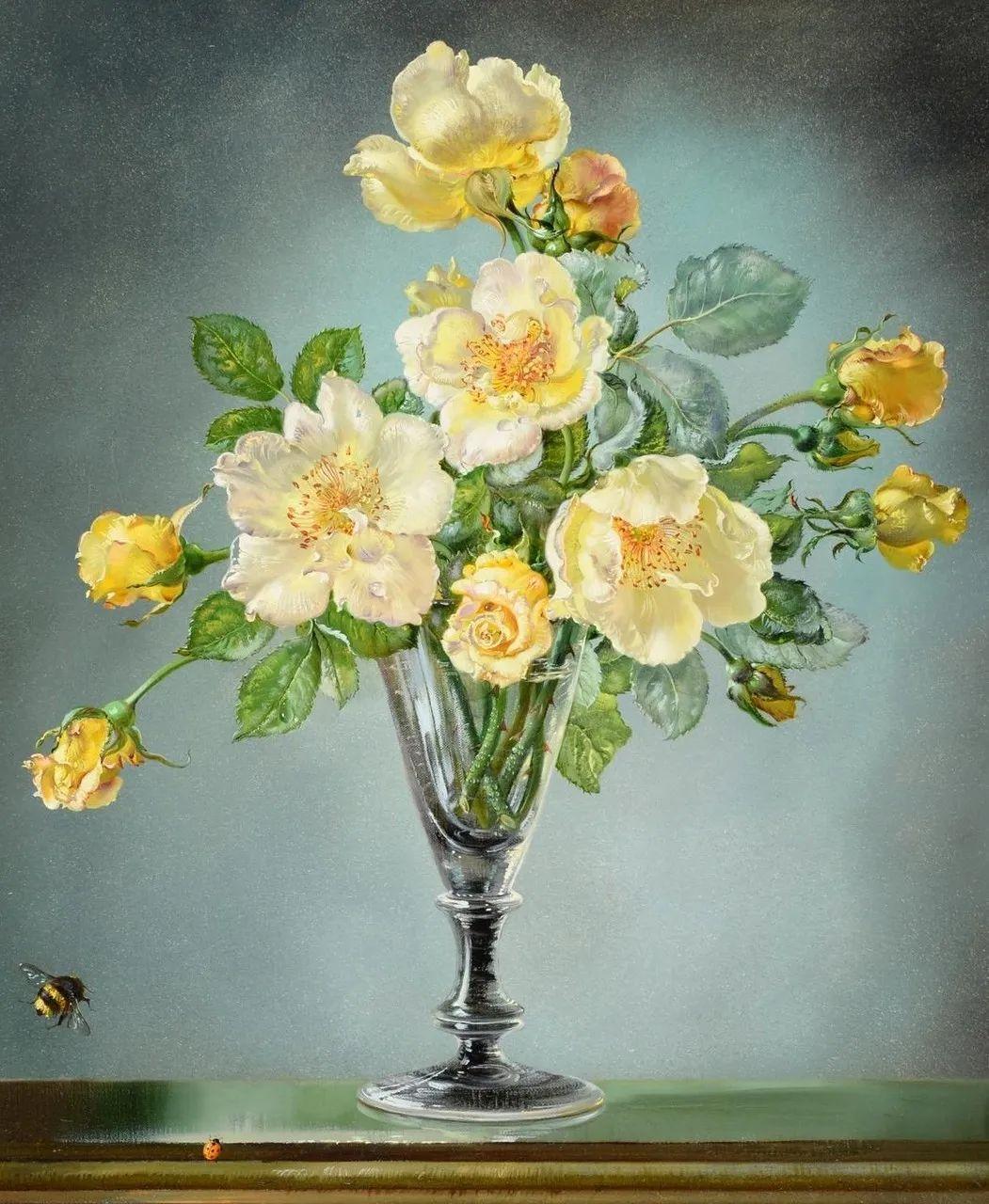 英国最伟大的花卉画家之一,艺术家塞西尔·肯尼迪插图69