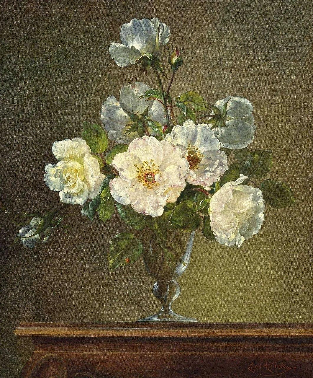 英国最伟大的花卉画家之一,艺术家塞西尔·肯尼迪插图71