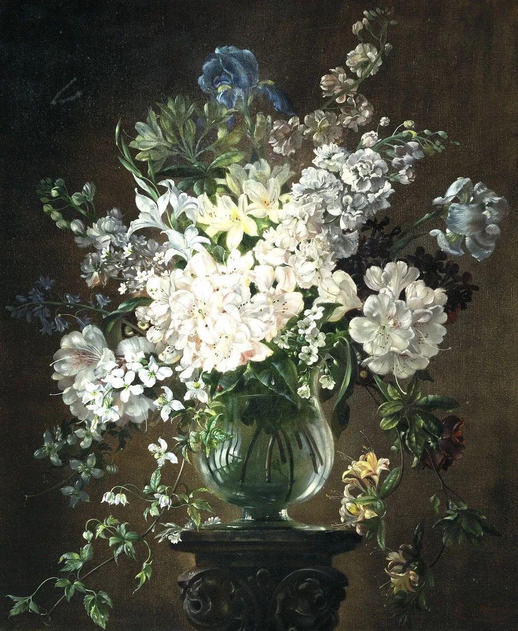 英国最伟大的花卉画家之一,艺术家塞西尔·肯尼迪插图73