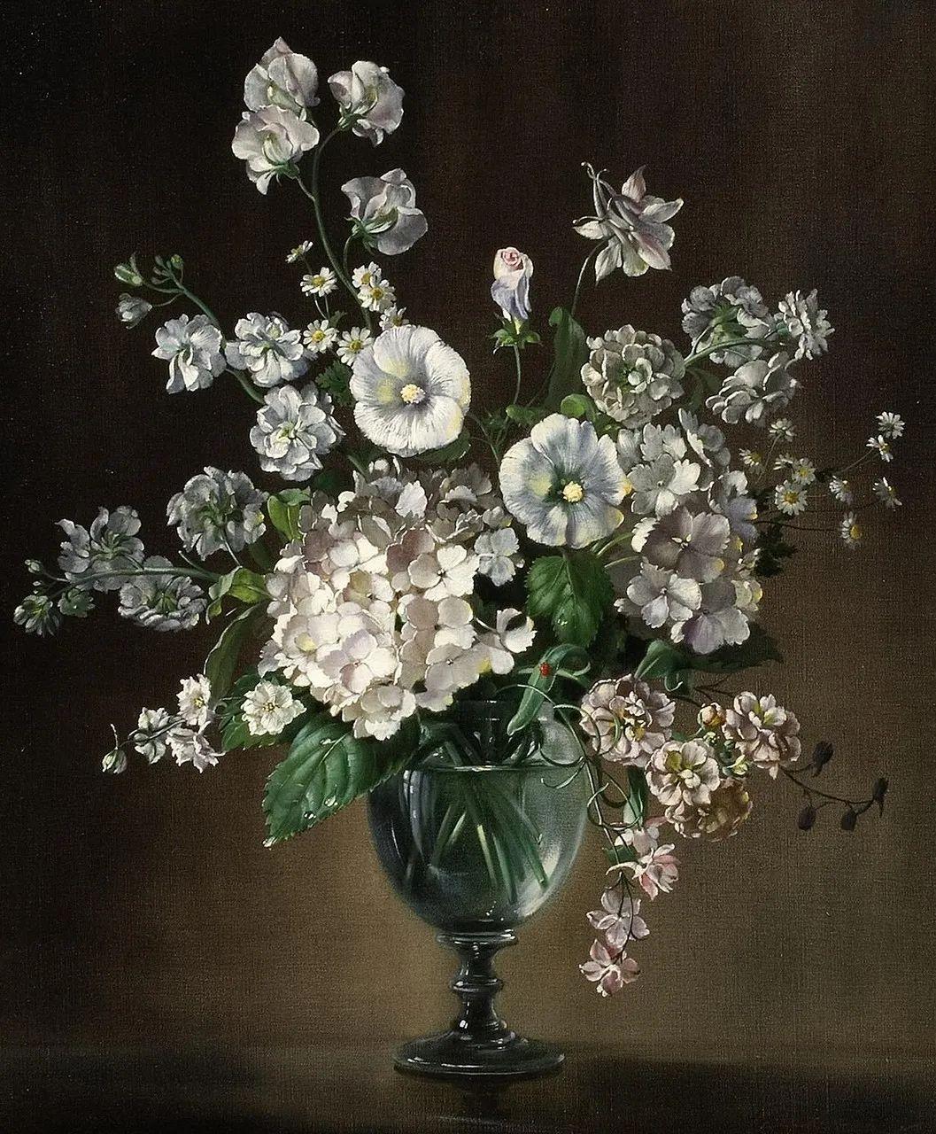 英国最伟大的花卉画家之一,艺术家塞西尔·肯尼迪插图75