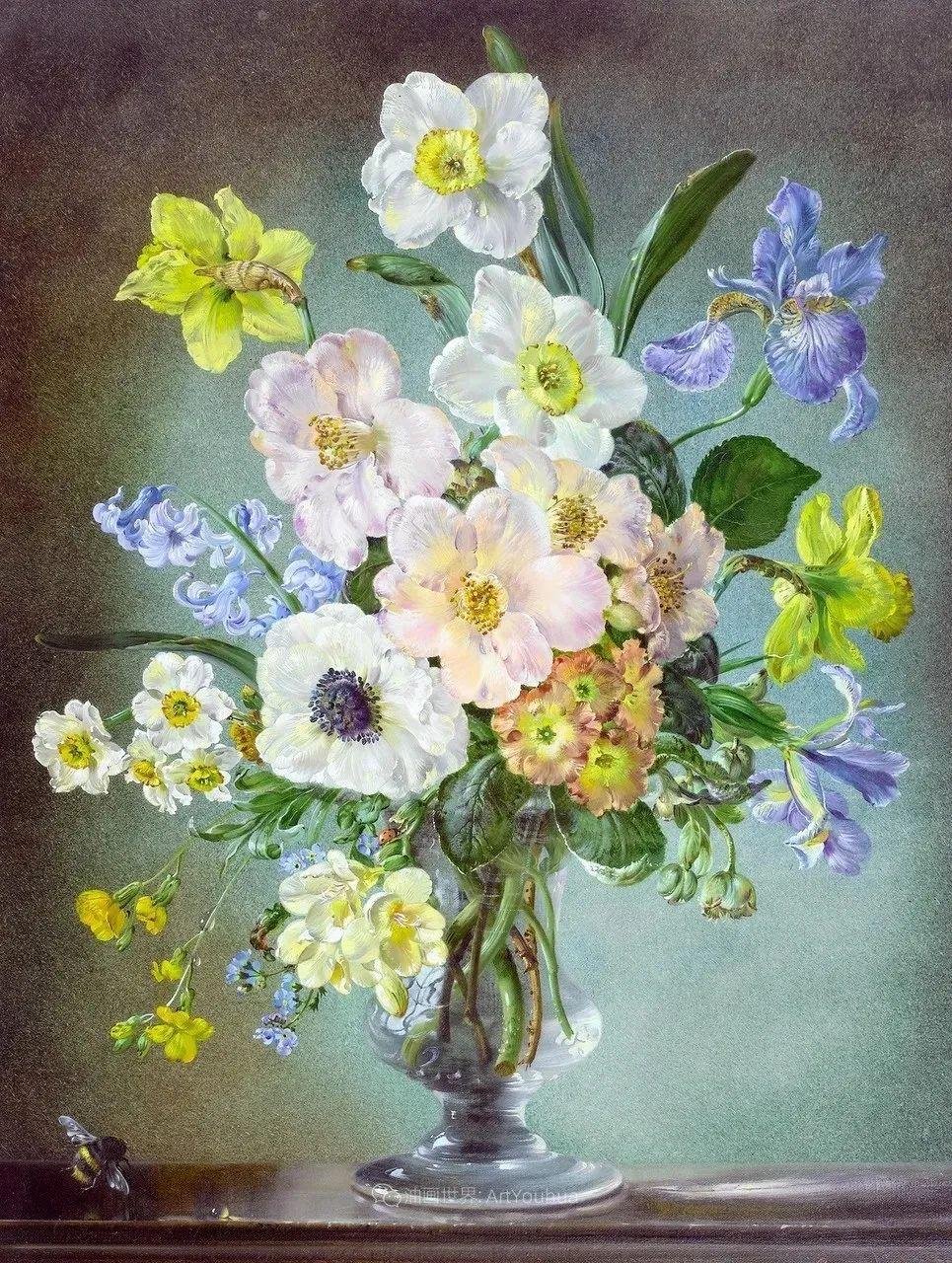 英国最伟大的花卉画家之一,艺术家塞西尔·肯尼迪插图77