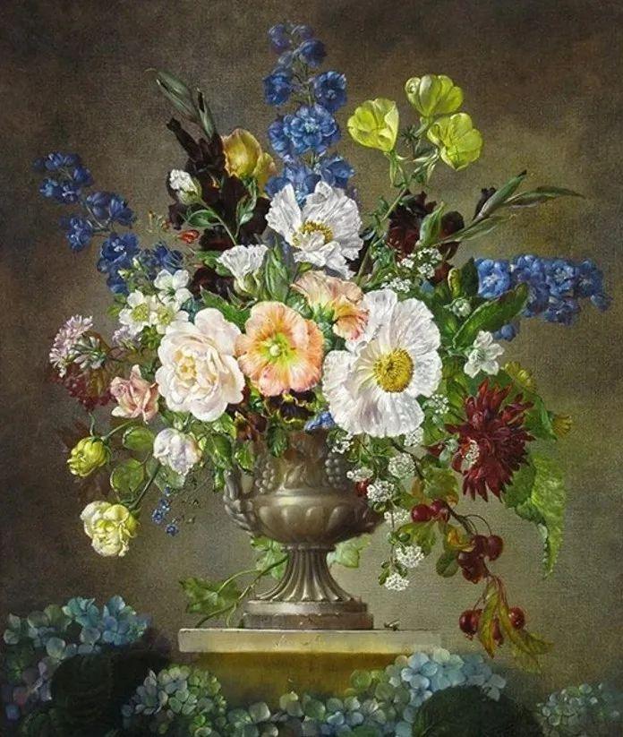 英国最伟大的花卉画家之一,艺术家塞西尔·肯尼迪插图79