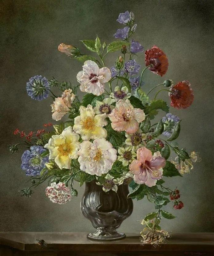 英国最伟大的花卉画家之一,艺术家塞西尔·肯尼迪插图81