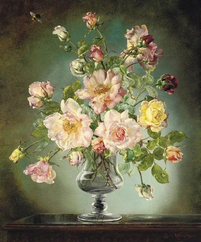 英国最伟大的花卉画家之一,艺术家塞西尔·肯尼迪插图83