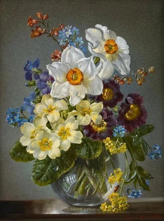 英国最伟大的花卉画家之一,艺术家塞西尔·肯尼迪插图87