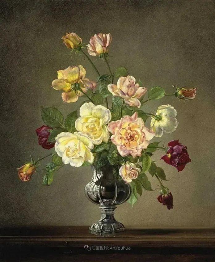 英国最伟大的花卉画家之一,艺术家塞西尔·肯尼迪插图95