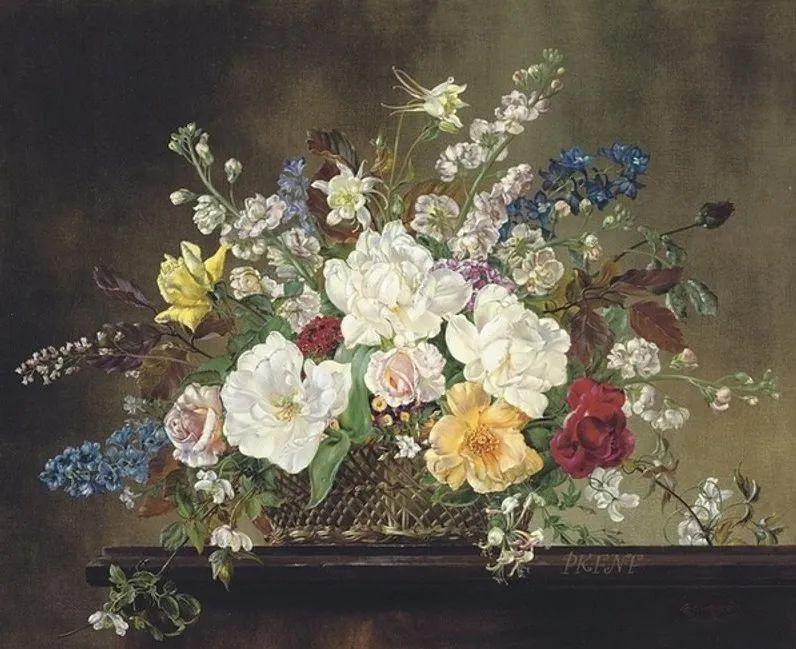 英国最伟大的花卉画家之一,艺术家塞西尔·肯尼迪插图97