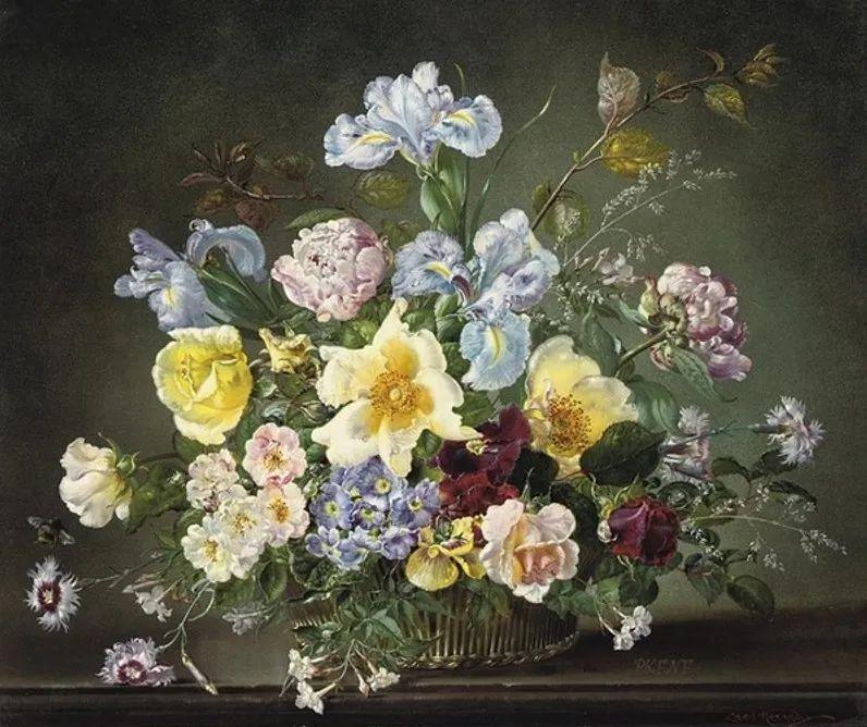 英国最伟大的花卉画家之一,艺术家塞西尔·肯尼迪插图99