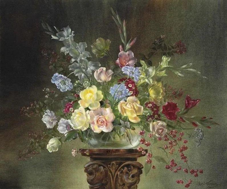 英国最伟大的花卉画家之一,艺术家塞西尔·肯尼迪插图101