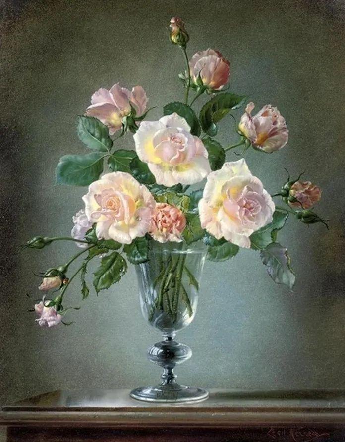 英国最伟大的花卉画家之一,艺术家塞西尔·肯尼迪插图107