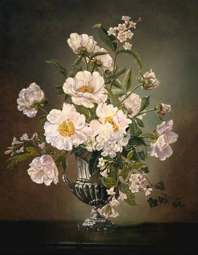 英国最伟大的花卉画家之一,艺术家塞西尔·肯尼迪插图109