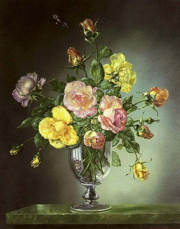 英国最伟大的花卉画家之一,艺术家塞西尔·肯尼迪插图119