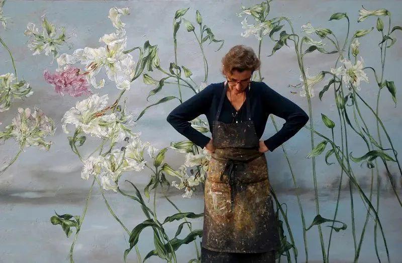 与花为邻,与草木为伍,她的画室充满大自然的灵气插图5