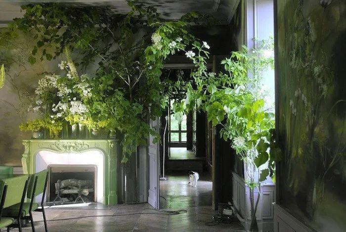 与花为邻,与草木为伍,她的画室充满大自然的灵气插图13