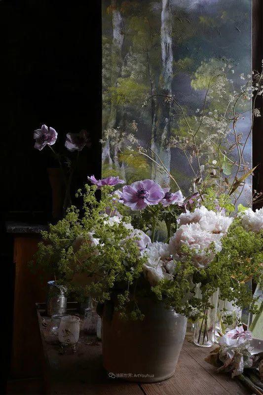 与花为邻,与草木为伍,她的画室充满大自然的灵气插图31