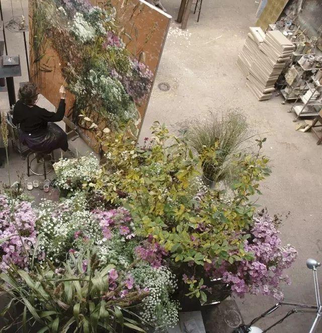 与花为邻,与草木为伍,她的画室充满大自然的灵气插图39