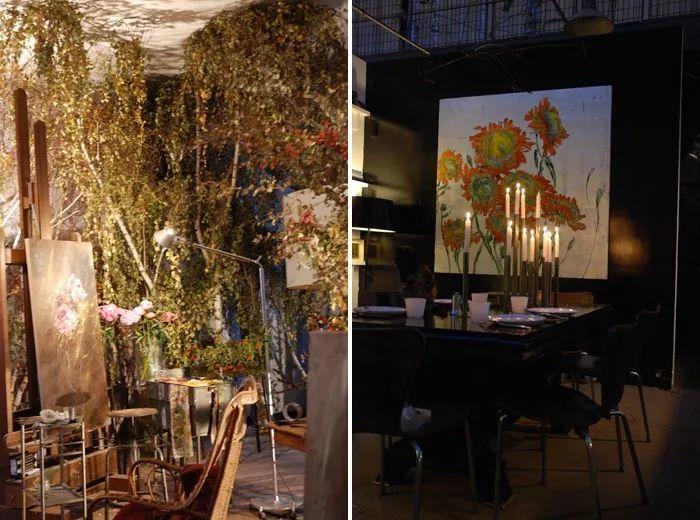 与花为邻,与草木为伍,她的画室充满大自然的灵气插图43