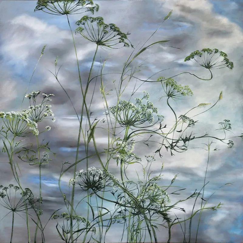 与花为邻,与草木为伍,她的画室充满大自然的灵气插图63