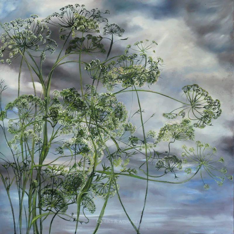 与花为邻,与草木为伍,她的画室充满大自然的灵气插图65