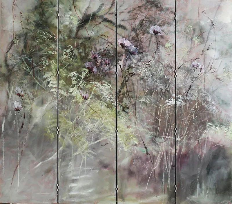 与花为邻,与草木为伍,她的画室充满大自然的灵气插图67