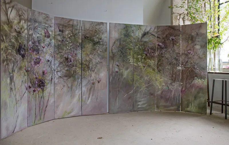 与花为邻,与草木为伍,她的画室充满大自然的灵气插图69