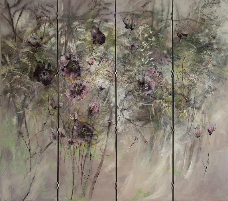 与花为邻,与草木为伍,她的画室充满大自然的灵气插图71