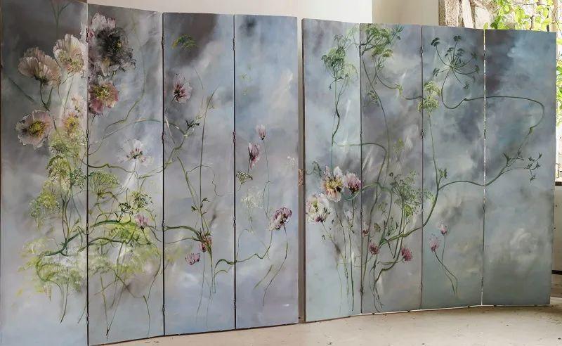 与花为邻,与草木为伍,她的画室充满大自然的灵气插图75
