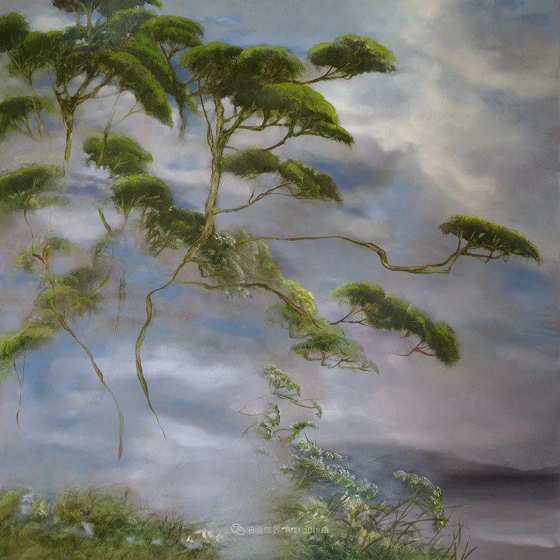 与花为邻,与草木为伍,她的画室充满大自然的灵气插图77