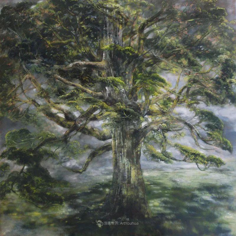 与花为邻,与草木为伍,她的画室充满大自然的灵气插图81