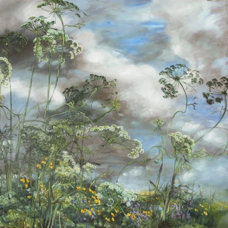 与花为邻,与草木为伍,她的画室充满大自然的灵气插图83