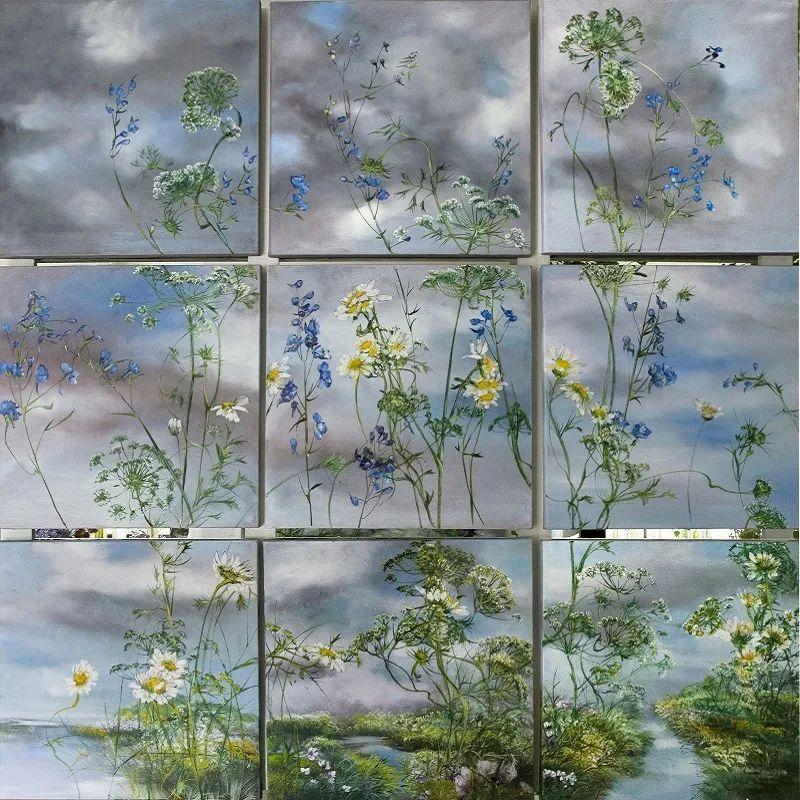 与花为邻,与草木为伍,她的画室充满大自然的灵气插图85
