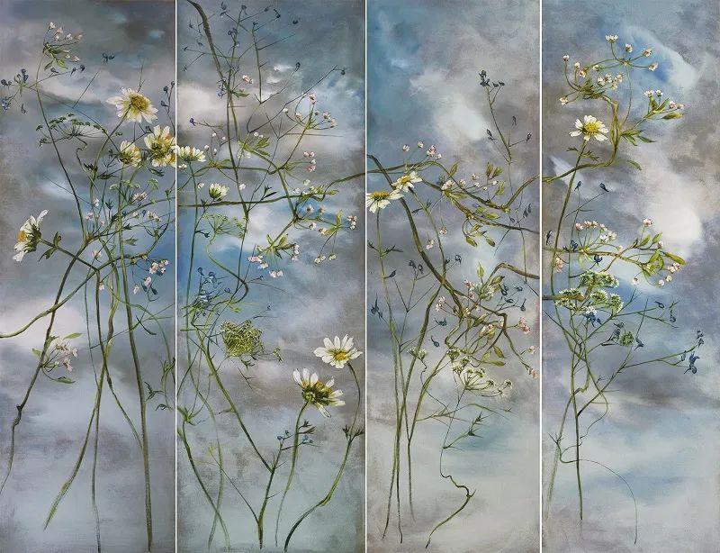 与花为邻,与草木为伍,她的画室充满大自然的灵气插图87