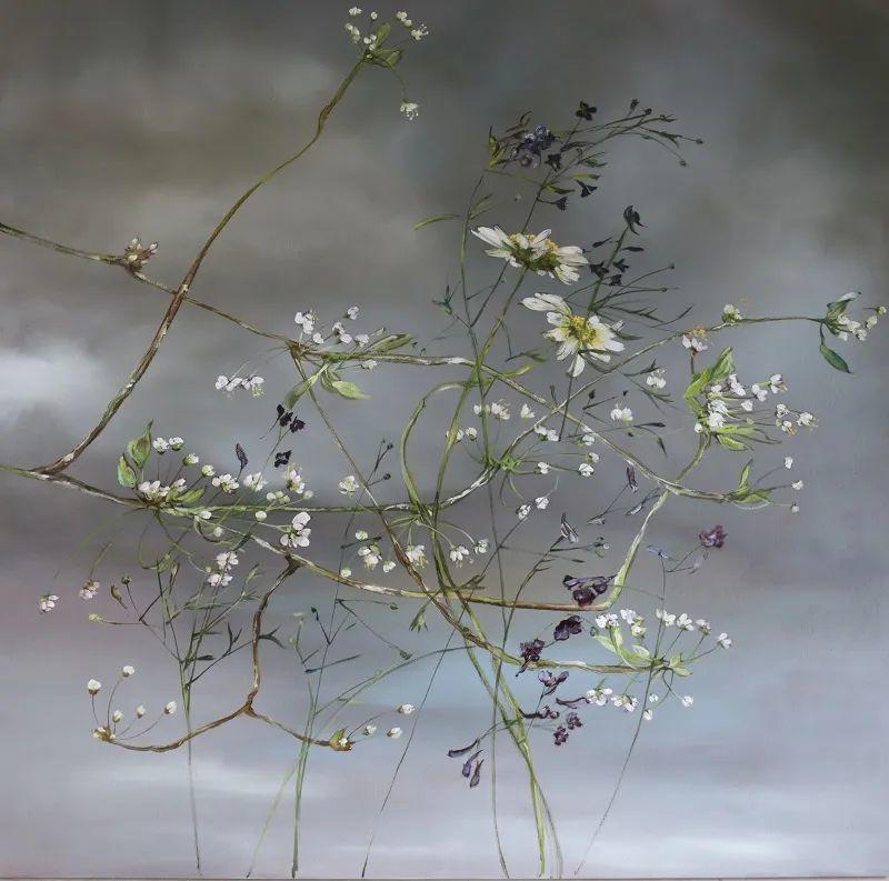 与花为邻,与草木为伍,她的画室充满大自然的灵气插图89