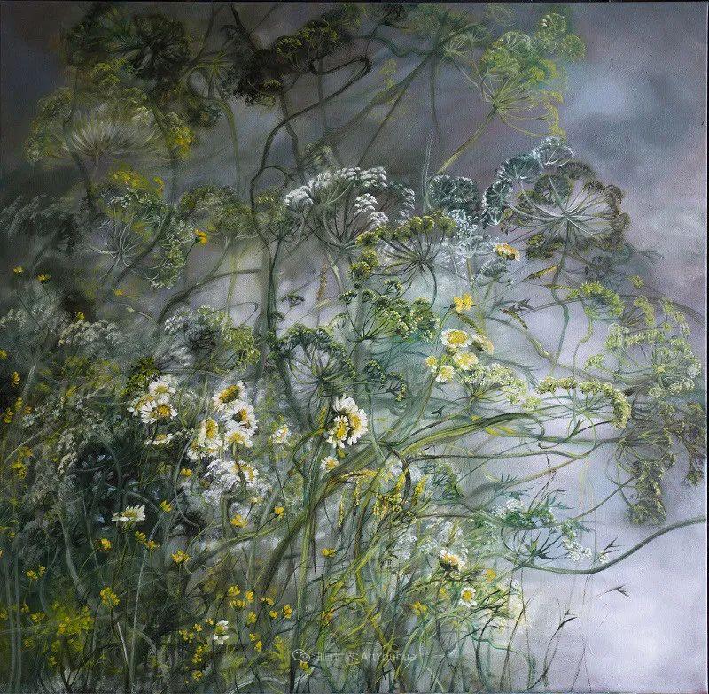 与花为邻,与草木为伍,她的画室充满大自然的灵气插图91