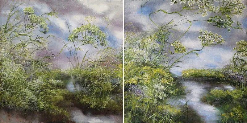 与花为邻,与草木为伍,她的画室充满大自然的灵气插图93